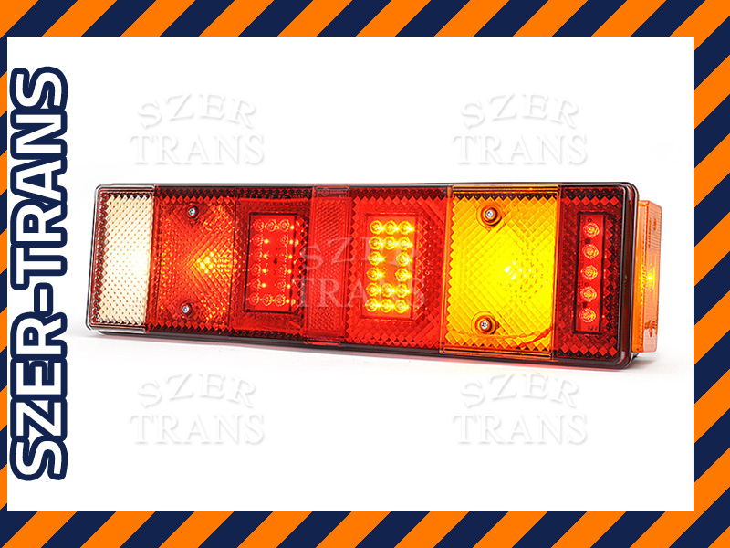 Lampa tylna MAN DAF Iveco Renault Volvo Scania LED